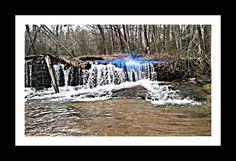 Old mill dam.