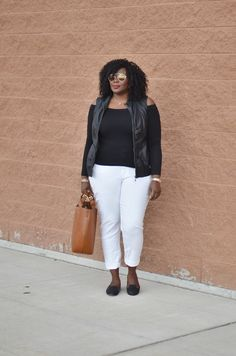 My Curves & Curls™ | A Canadian Plus Size Fashion blog: Casual Friday