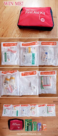 WIN ME! Easy Care First Aid Kit
