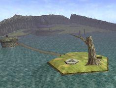 One of my favorite lands: Legend of Zelda: Ocarina of Time - Lake Hylia Cool Art, Awesome Art, Monty Python, Legend Of Zelda, City Photo, Video Games, Scenery, Adventure, World