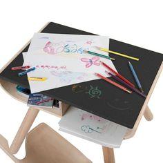 Kindertisch Und Kinderstuhl Set In Schwarz Von PlanToys ✓ Jetzt Online  Kaufen ✓ Schadstofffreie Materialen ✓
