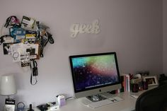 Modern Workspace  :: iMac Setup Geek