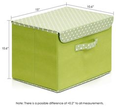Sewing Fabric Storage Furinno Storage Organizer with Lid, Green contemporary-storage-bins-and-boxes - Diy Storage Boxes, Fabric Storage Bins, Fabric Boxes, Bag Storage, Cardboard Recycling, Cardboard Crafts, Organizar Closet, Hanging Closet Organizer, Pantry Labels