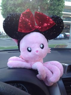 My Tentacle Kitty found her Disney side!