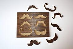 Wood Mustache Puzzle.