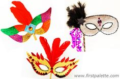 template for masquerade mask