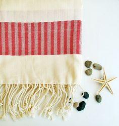 Peshtemal Towel Beach Bath NATURAL Cotton Towel Eco by loovee, $23.00