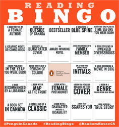 What are you reading in 2016? We challenge you to read 'outside the box' and explore different genres, characters, settings and stories. Reading Bingo is back, and we want you to venture outside your reading comfort zone to try something new!You can approach the Reading Bingo card however you like: beginners, start by getting one line; if you're more advanced, try the whole outside box on the card; experts, we want to see the entire card full! Write in the titles of the books as you go to…