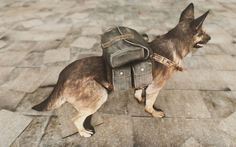 Dogmeat's Backpack at Fallout 4 Nexus - Mods and community