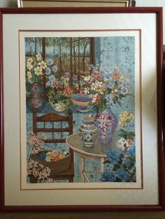 John Powel Signed Serigraph 43/300 - Country House (Valued $3,000-$3,500 ) 35x45