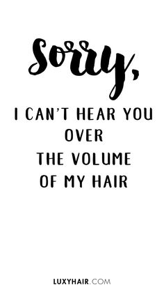 Get Big Sexy Curls: 3 ways Get big, sexy, voluminous curls – 3 ways! - Station Of Colored Hairs Hair Salon Quotes, Curly Hair Quotes, Natural Hair Quotes, New Hair Quotes, Quotes About Hair, Hair Qoutes, Hair Sayings, Curls Quotes, Sexy Curls