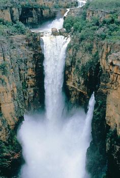 Jim Jim Falls during the wet season, Kakadu National Park, Australia