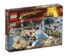 LEGO Indiana Jones Venice Canal Chase (7197) @ niftywarehouse.com #NiftyWarehouse #IndianaJones #GeorgeLucas #HarrisonFord #Movies