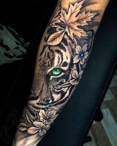 Tribal Arm Tattoos, Arm Tattoos Polynesian, Geometric Tattoo Arm, Tiger Forearm Tattoo, Tiger Tattoo Design, Samoan Tattoo, Tattoo Designs, Japanese Sleeve Tattoos, Best Sleeve Tattoos