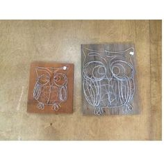 How cute are these owls made out of wire? Available in store now- website soon! Call 1-800-467-7763 www.msgifts.com