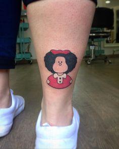 Mafalda!!!! . . . . . . #tattoo #tattoos #bodyart #tattooed #inked #ink #tatts #tats #art #design #artist #tatuaje #santcugat #bcn #tattoostudio #barcelonatattoo #tattooworkers #blackink #pantheraink #barcelona #mafalda #quino #red by jaumevall