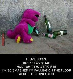 Drunk Barney