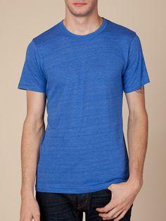 $24 Men's Short Sleeve | Eco-Heather Crew | Alternative Apparel