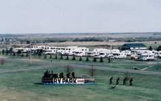 Lewis & Clark RV Park at Hazen, North Dakota - Passport America Participating Campground