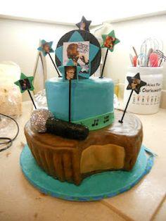 Justin Bieber cake!!!!