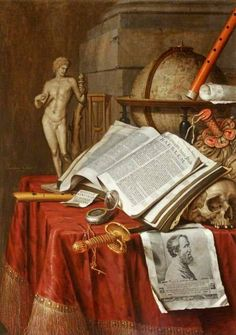 Edwaert Colliers, Vanitas, 1675