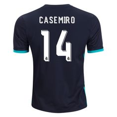 195ca5811a6 2017 2018  Casemiro Jersey Number 14 Away Men s Replica Real Madrid Soccer  Number 14