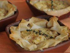 Receta Plato : Pie de pollo al tomillo por Claudia Varleta