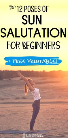 Learn the 12 yoga poses of Sun Salutation and much more. When is the best time to do sun salutation? Find out in this yoga article. Sun Salutation Sequence, Audi, Yoga Breathing, Yoga At Home, Types Of Yoga, Yoga Poses For Beginners, Ashtanga Yoga, Yoga Tips, Yoga Routine