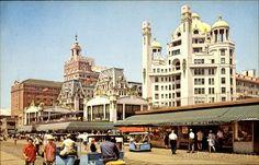 Hotel Row Atlantic City New Jersey Margate Nj, New Jersey, Jersey Girl, Nj Beaches, Jewel Of The Seas, Vacation Days, Rooftop Pool, Seaside Towns, Atlantic City