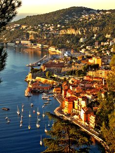 Villafranche-sur-Mer, French Riviera. Been there I think three times so far. I need to visit again, miss it so much.