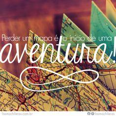 Aventure-se viajando! | #mulher #viajar #EspiritoMochileira #mapa