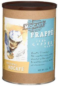 MOCAFE Frappe Original Mocafe, Ice Blended Coffee, 3-Pound Tin (bestseller)