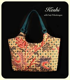 beautiful batik bag