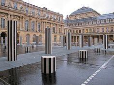 Palais-Royal, Paris by Daniel Buren