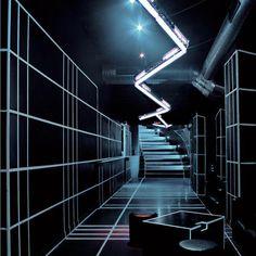 #FUTURISTIC #FUTURISTIC STYLE #INTERIORS (http://www.pinterest.com/AnkAdesign/nightplaces/)