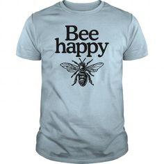 Cool Bee happy organic tshirt  Womens Organic TShirt Shirts & Tees