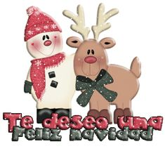 Mensajes animados navideños para descargar gratis.