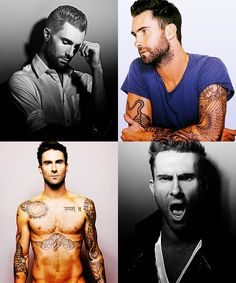 adam levine is so sexy that i melt a little inside. all those beautiful tattoos! mercy. funkycarolina