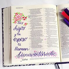 #tequieromami #mom #ilustrana #feilustrada #tombowusa #letteringwithtombow #bibliadeapuntes #lettering #proverbios #proverbs31 #bienaventurada