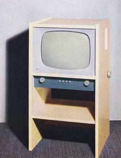 Braun Fernsehgerät FS 1/2 (G) - 1955, Design: Hans Gugelot