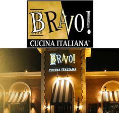 Bravo Cucina Italiana - One of my favorite restaurants.  LOVE the Ravioli al Forno!  Yumm!!!
