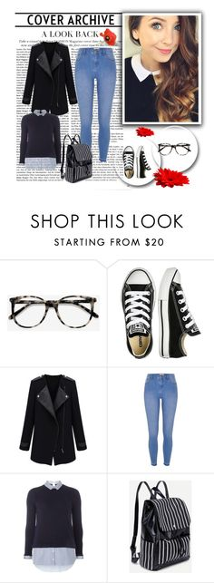 """""""Every day look"""" by hedija-okanovic ❤ liked on Polyvore featuring Ace, Converse, River Island and Dorothy Perkins"""