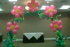 Affair Afloat Balloon Arches