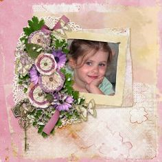 Thoughts Of You Page Kit - by Linda Cumberland  #thestudio #digitalscrapbooking #lindacumberland #lindacdesigns
