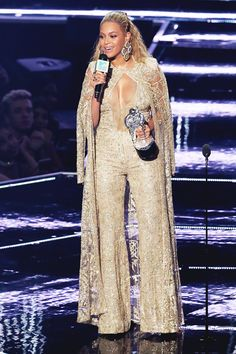 Beyoncé at the MTV Video Music Awards at Madison Square Garden New York City New York 28th August 2016
