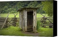 outhouses-what you encountered when entering this smelly place late at night....bullfrogs, snakes, big bugs.......... glad they won't ever make a comeback.