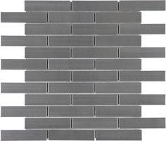 "1""x4"" #Stainless Steel Brick #Mosaics www.anatoliatile.com"