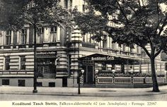 1934 Multi Story Building, Street View, City