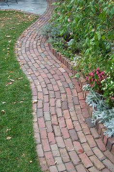 We could do the brick pathway