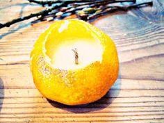 Mandarinen Kerzen